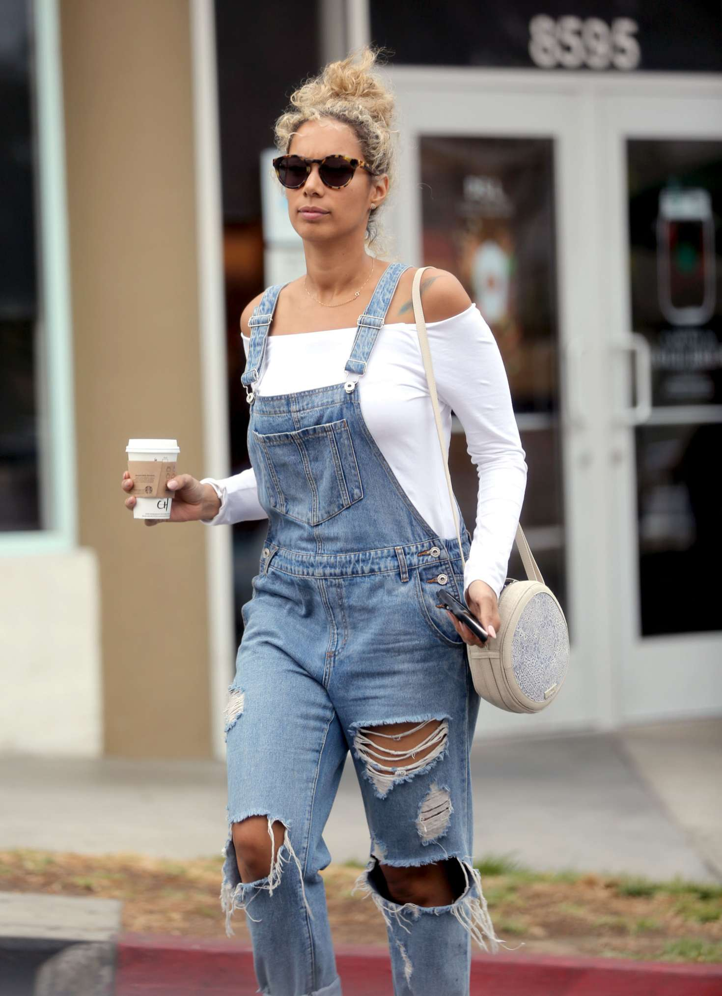 Leona Lewis 2016 : Leona Lewis out shopping in Los Angeles -06