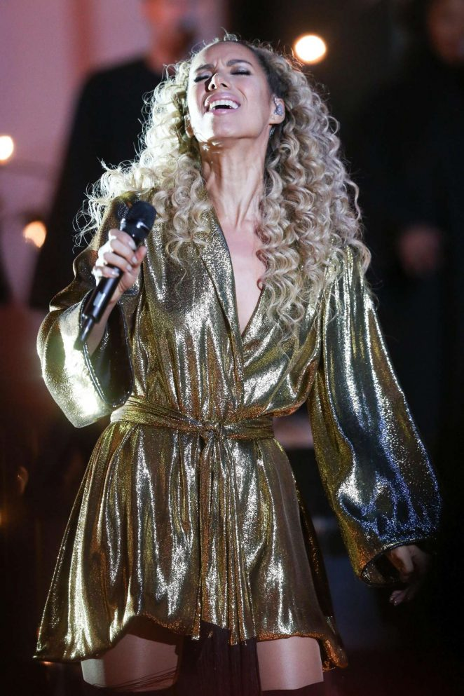 Leona Lewis - Perform on The One Show in London
