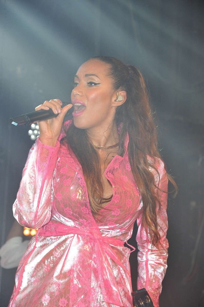 Leona Lewis - Performing at G.A.Y Nightclub in London
