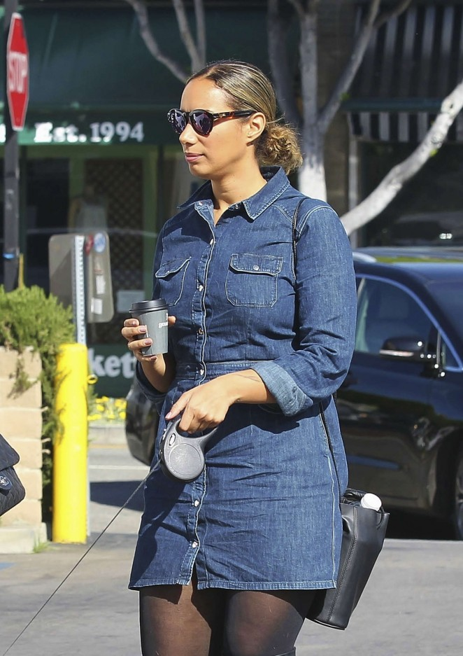 Leona Lewis - Shopping at Madewell in Los Angeles
