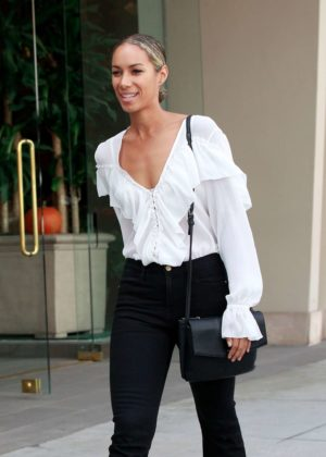Leona Lewis - Shopping in Beverly Hills