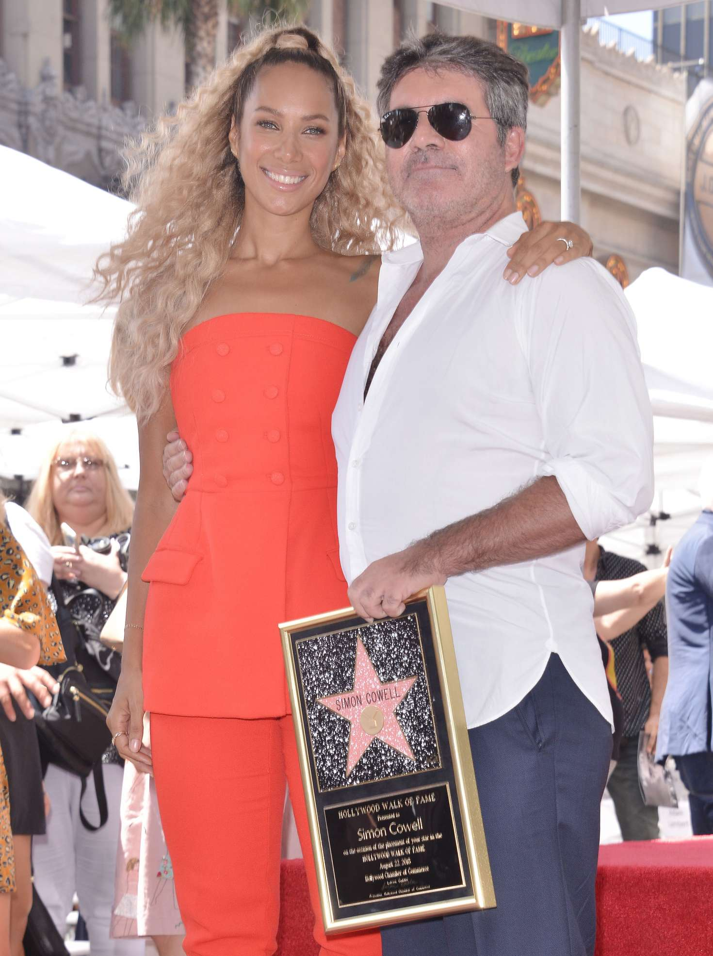 Leona Lewis 2018 : Leona Lewis: Simon Cowell Star On The Hollywood Walk Of Fame Ceremony -01