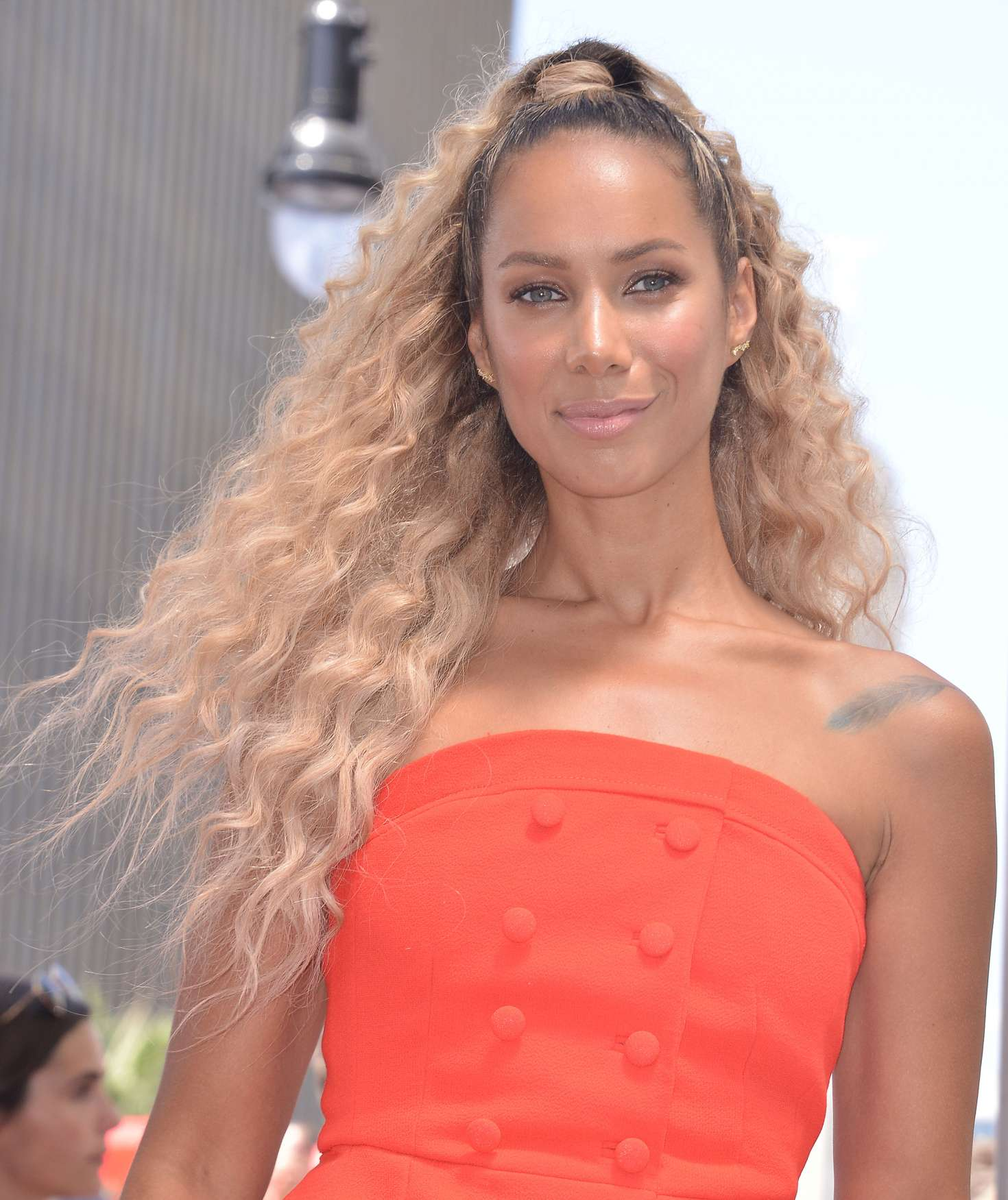 Leona Lewis 2018 : Leona Lewis: Simon Cowell Star On The Hollywood Walk Of Fame Ceremony -03