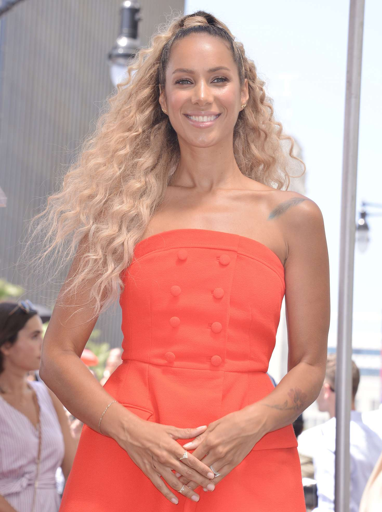 Leona Lewis 2018 : Leona Lewis: Simon Cowell Star On The Hollywood Walk Of Fame Ceremony -04