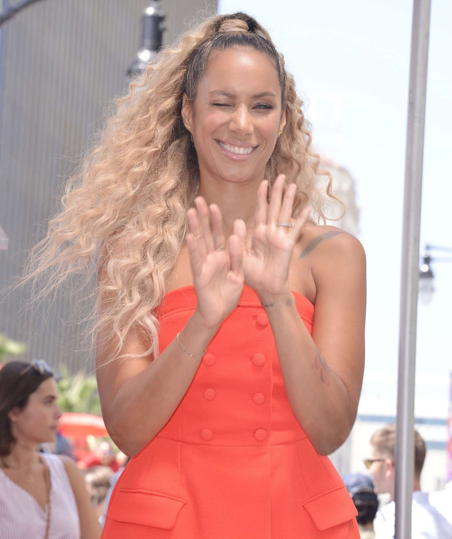 Leona Lewis 2018 : Leona Lewis: Simon Cowell Star On The Hollywood Walk Of Fame Ceremony -05