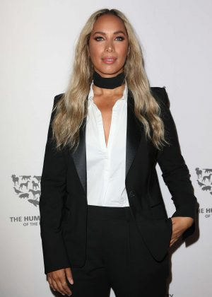 Leona Lewis - The Humane Society Of The United States To The Rescue Gala in Hollywood