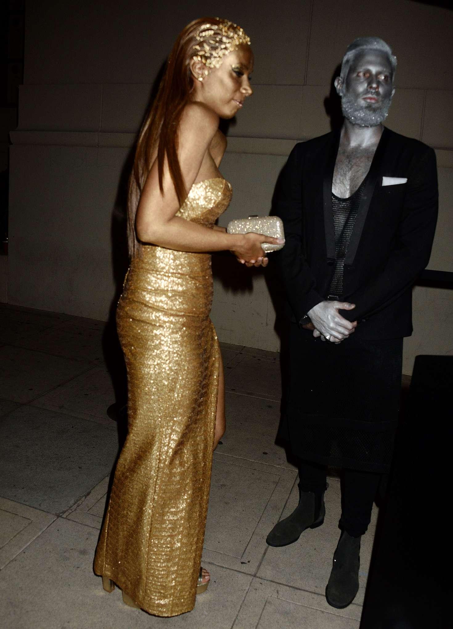 Leona Lewis 2016 : Leona Lewis: Trick or treats 6th Annual treats Magazine Halloween Party -03