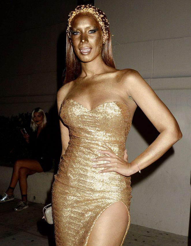 Leona Lewis - Trick or treats! 6th Annual treats! Magazine Halloween Party in LA