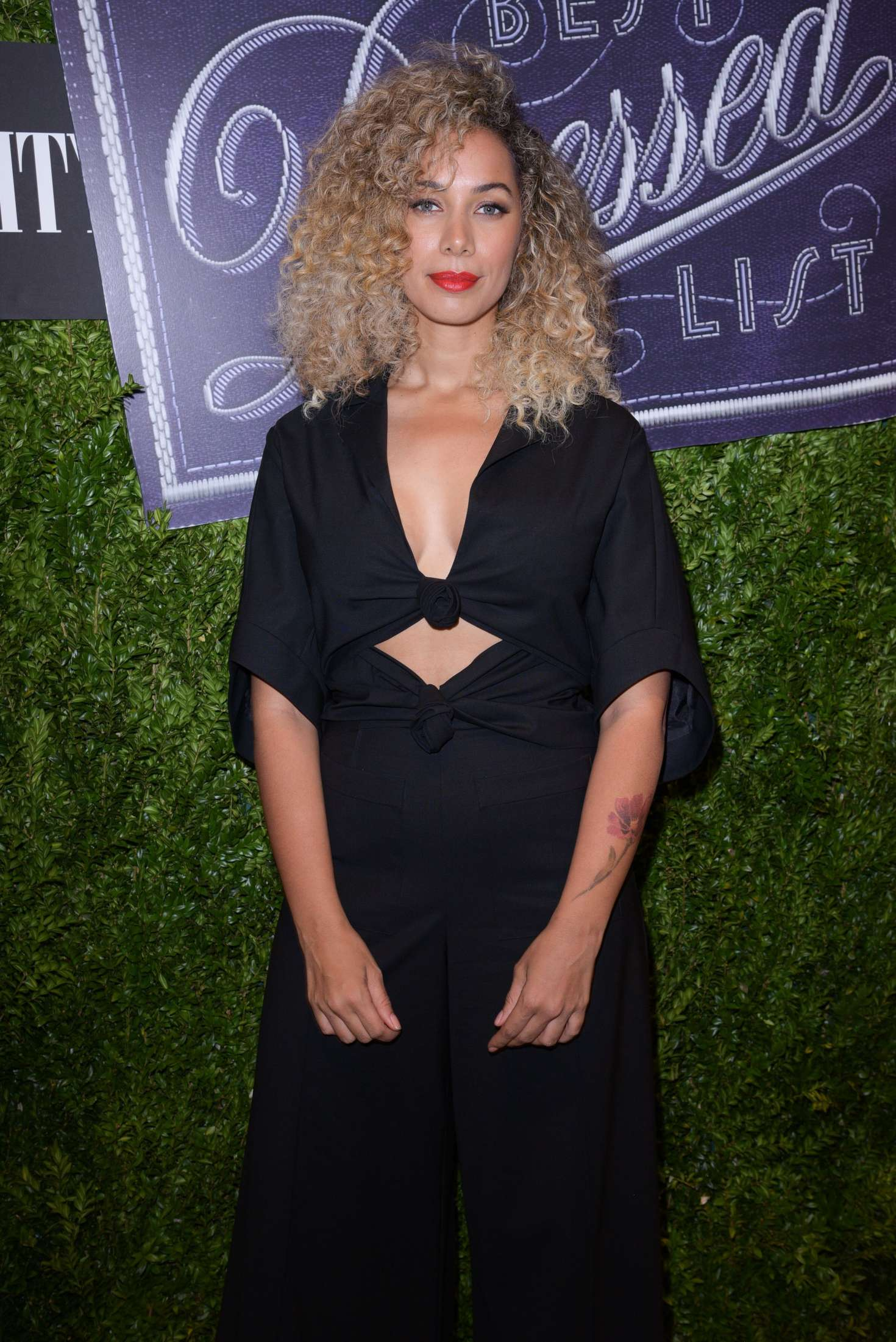 Leona Lewis - Vanity Fair 2016 Best Dressed Reception in New York