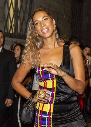 Leona Lewis - Versace Fashion Show in Milan