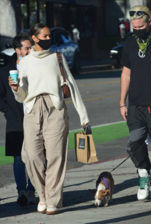 Leona Lewis - With her husband Dennis Jauch are spotted in Santa Monica