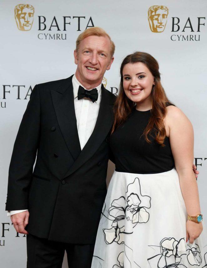 Leona Vaughan – BAFTA 2017 in Cardiff