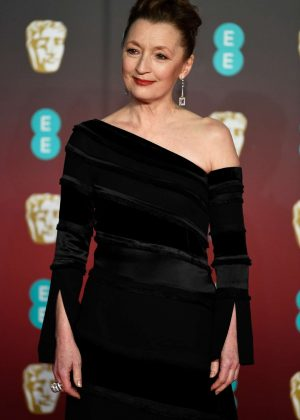 Lesley Manville - 2018 BAFTA Awards in London