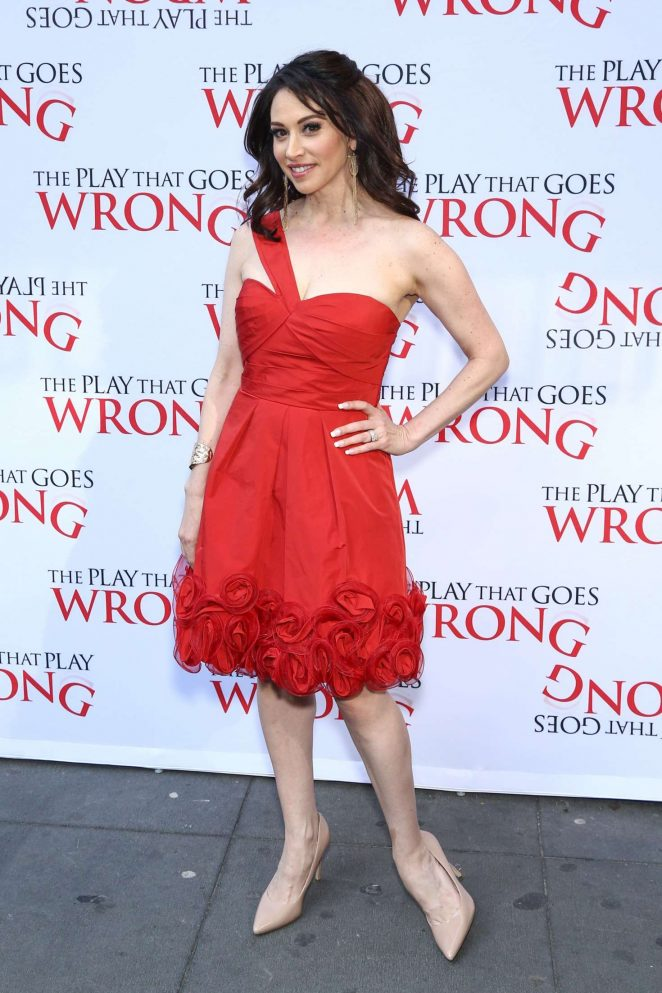 Lesli Margherita - 'The Play That Goes Wrong' Play Opening Night in NY