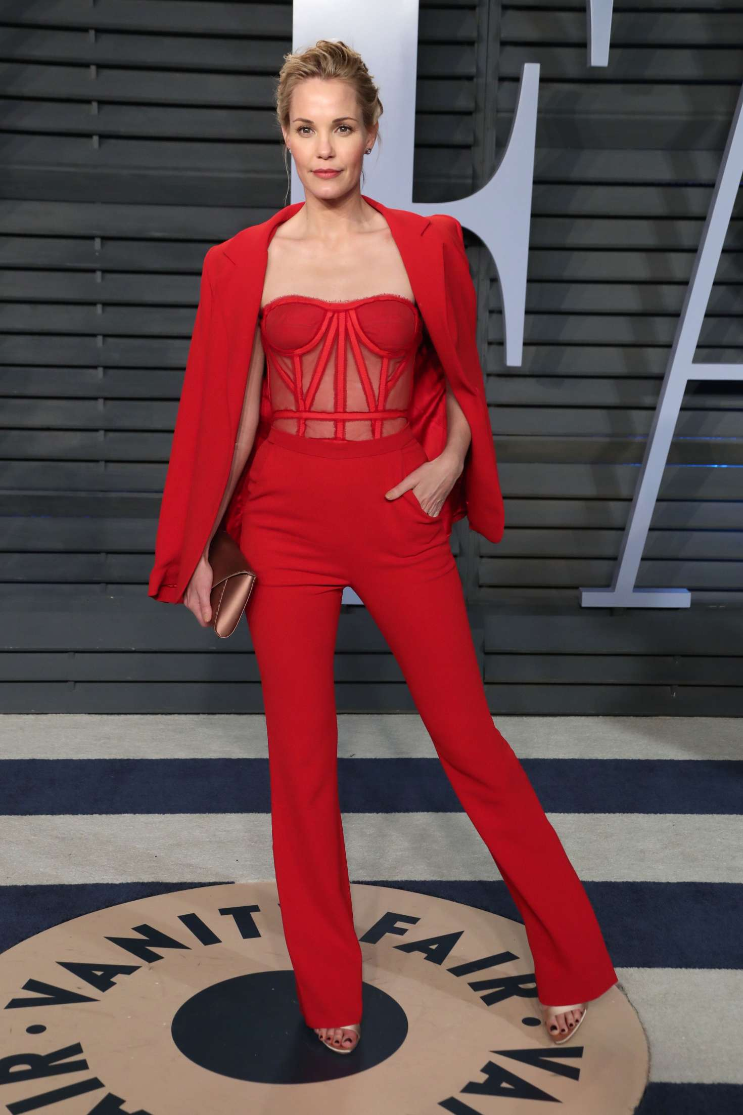 Leslie Bibb - 2018 Vanity Fair Oscar Party in Hollywood