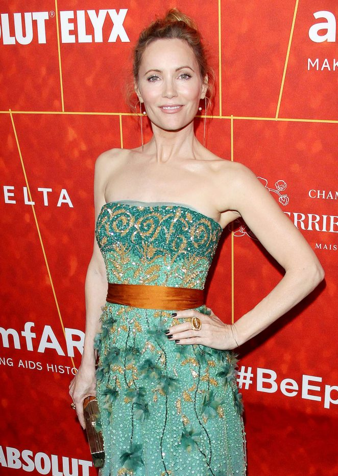 Leslie Mann – 2018 amfAR Inspiration Gala in Beverly Hills