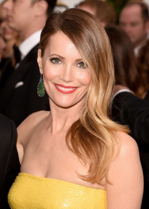 Leslie Mann - 2015 Golden Globe Awards in Beverly Hills