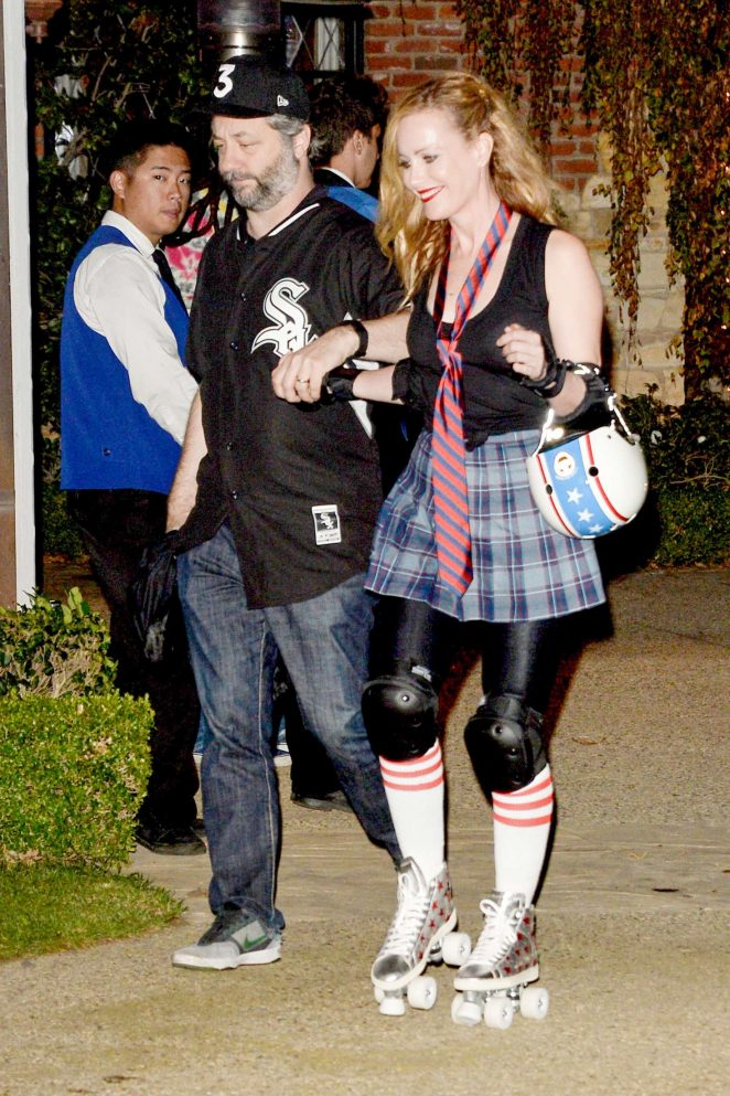 Leslie Mann - Kate Hudson's Halloween Party in Pacific Palisades
