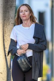 Leslie Mann - Leaving Meche hair salon in Beverly Hills