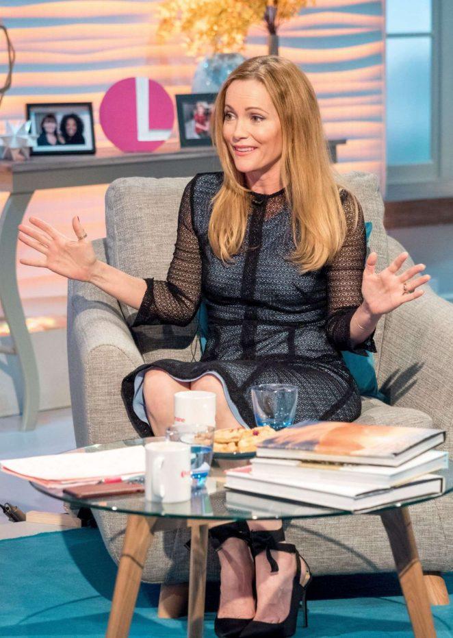 Leslie Mann on Lorraine TV Show in London