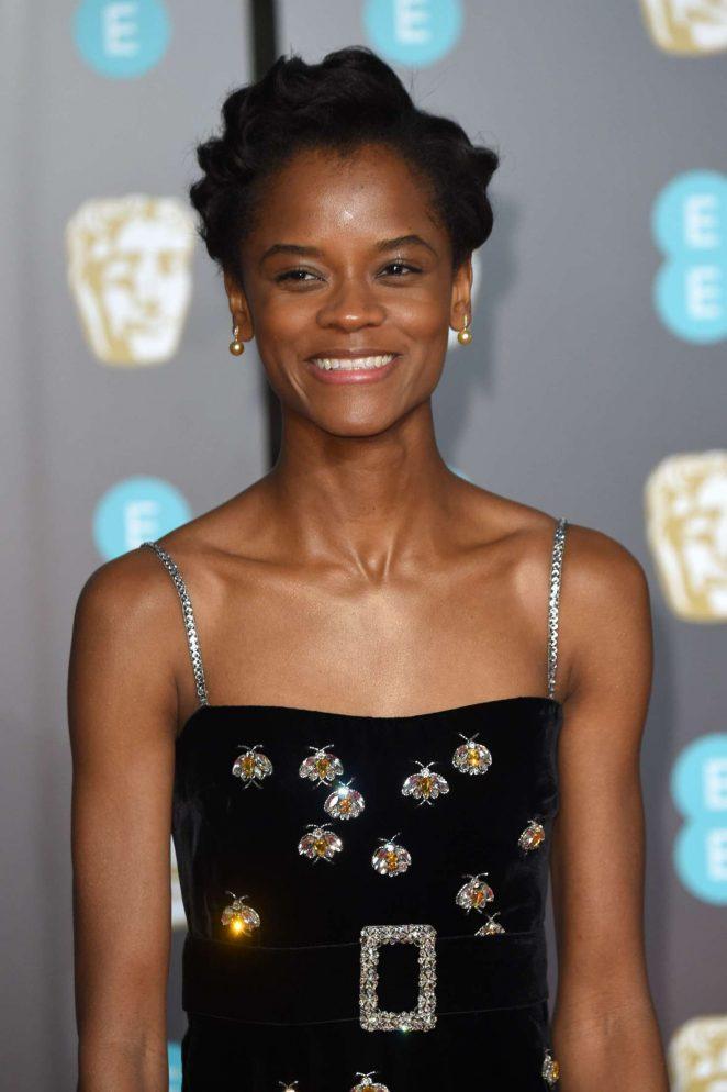letitia wright 2018 bafta awards 01 gotceleb