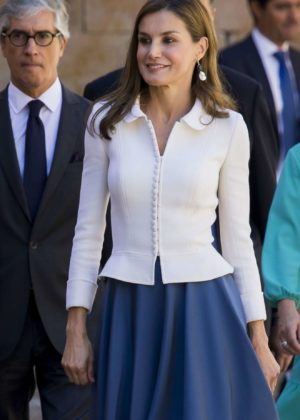 Letizia Ortiz (Queen of Spain) - Salamanca University opening