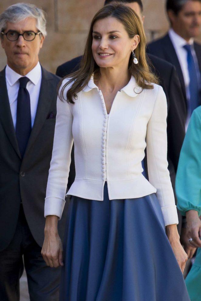 Letizia Ortiz (Queen of Spain) - Salamanca University opening