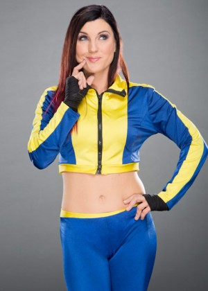 Leva Bates - WWE Photoshoot 2015