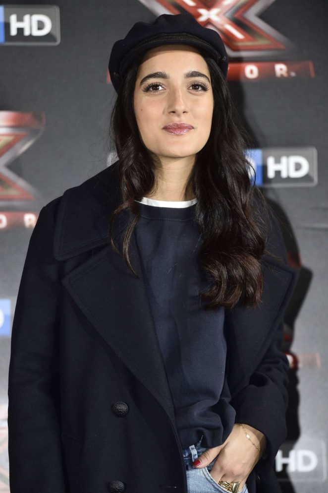 Levante - 'X Factor' TV show photocall in Milan