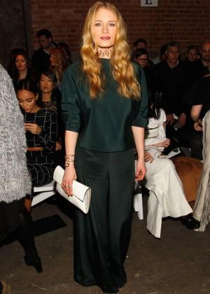 Leven Rambin - Christian Siriano 2016 Fashion Show in NYC