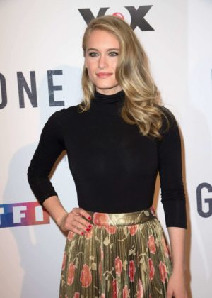 Leven Rambin - 'Gone' TV Series Photocall in Paris