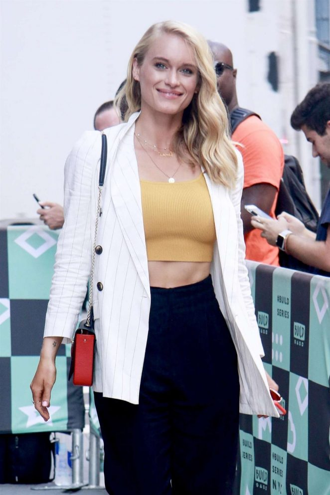 Leven Rambin – Visits AOL Build Series in New York City