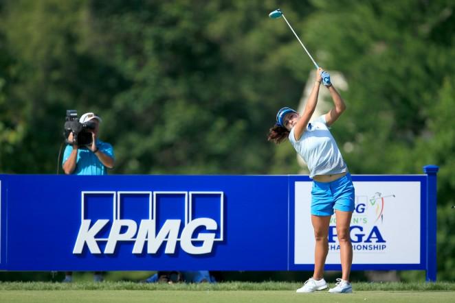 Lexi Thompson: 2015 KPMG Womens PGA Championship -17