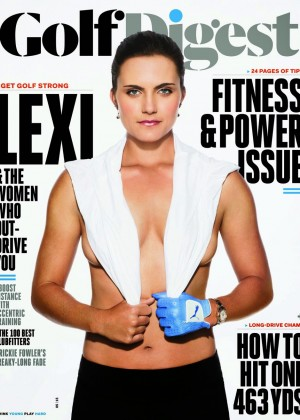Lexi Thompson - Golf Digest Magazine (May 2015)