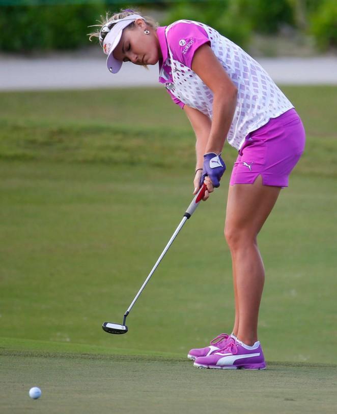 Lexi Thompson - Pure Silk Bahamas LPGA Classic in Paradise Island