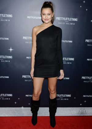 Lexi Wood - PrettyLittleThing x Hailey Baldwin Launch Event in LA