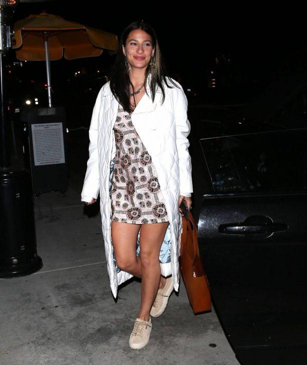 Lexy Panterra - With her boyfriend Alex Wassabi at Nobu Restaurant in West Hollywood