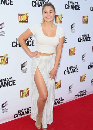 Lia Marie Johnson - 'Emma's Chance' Premiere in Hollywood