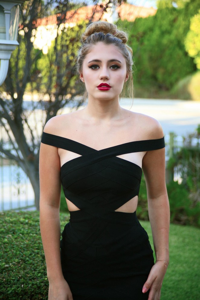 Back to post Lia Marie Johnson – NationAlist Magazine (October 2015)