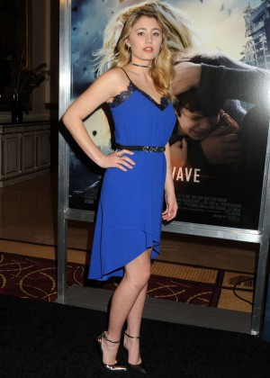 Lia Marie Johnson - 'The 5th Wave' Premiere in Los Angeles