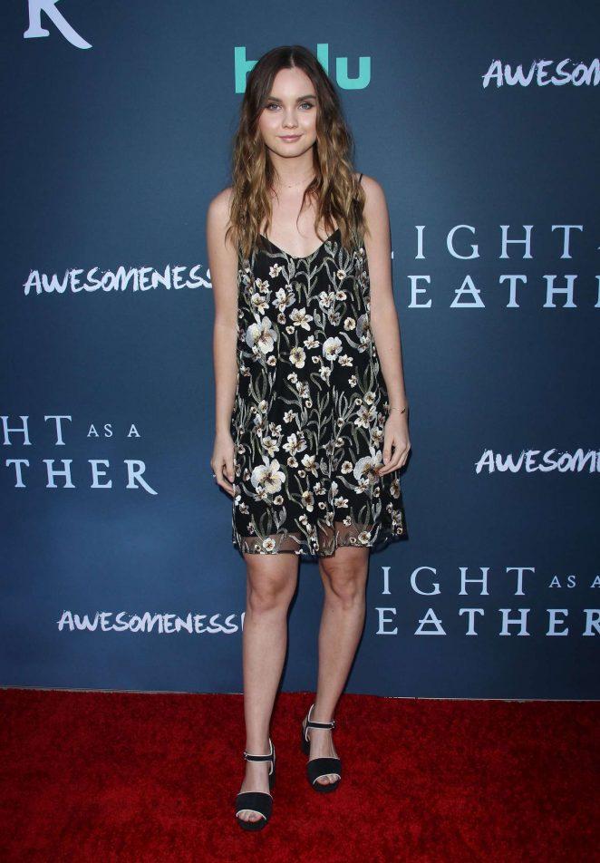Liana Liberato – 'Light as a Feather' Premiere in Santa Monica