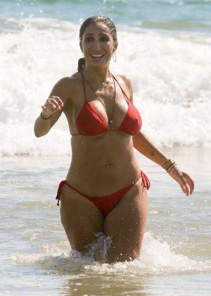 bikini photo Red