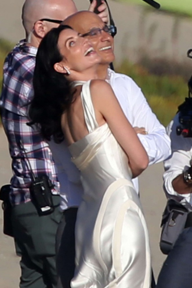 Liberty Ross at her wedding ceremony -13