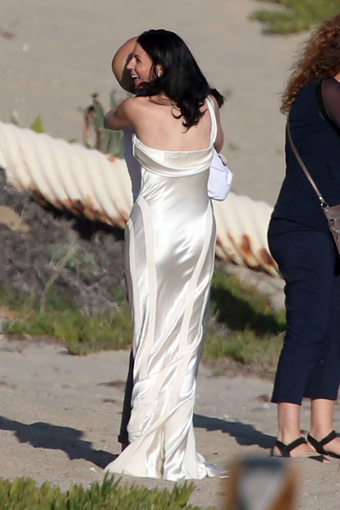 Liberty Ross at her wedding ceremony -31