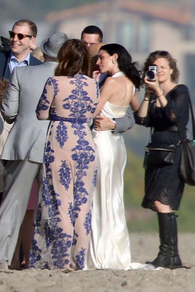 Liberty Ross at her wedding ceremony -38