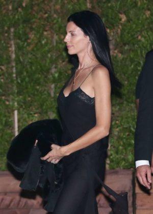 Liberty Ross in Black Dress at Soho House in Malibu