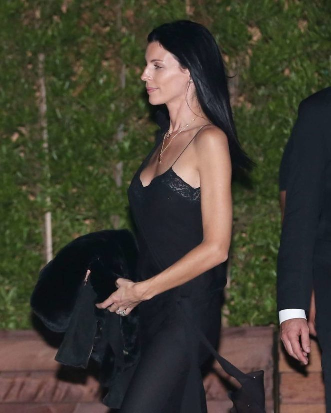Liberty Ross in Black Dress at Soho House in Malibu