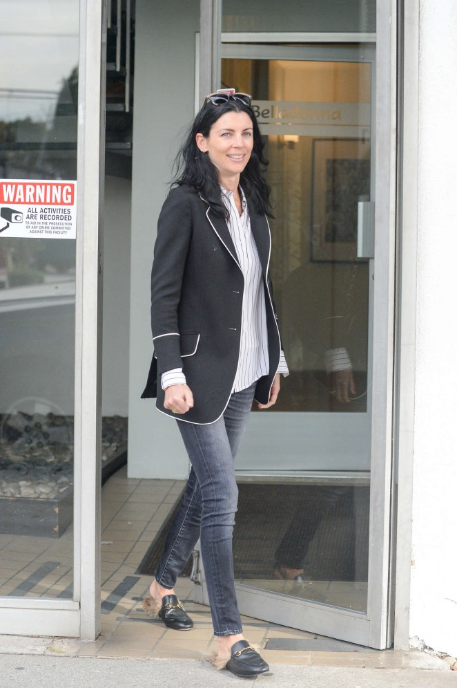 Liberty Ross - Leaves Belladonna Spa in Beverly Hills