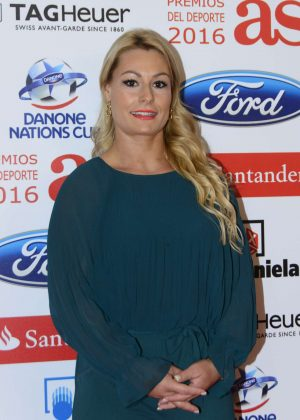 Lidia Valentin - AS Sports Person of the year Awards 2016 in Madrid