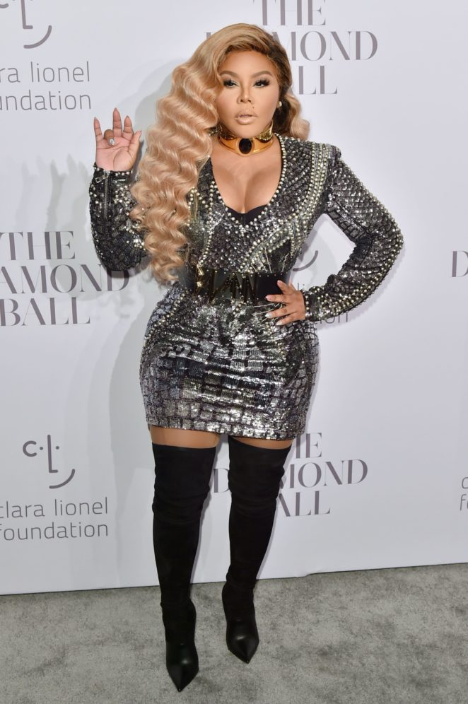 Lil and Kim - Attends Rihannas 3rd Annual Clara Lionel Foundation Diamond Ball in NYC